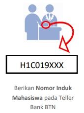 2. Memberikan informasi berupa NIM