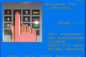 3. Selanjutnya masukkan nomor PIN ATM BNI yang akan dijadikan transaksi pembayaran