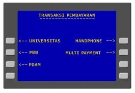 4. Kemudian pilihlah menu Universitas