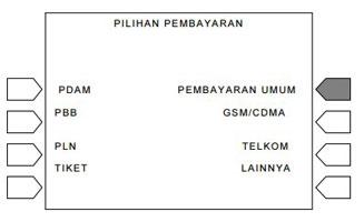 5. Pilih Menu Pembayaran Umum