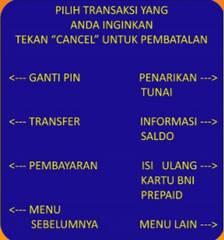 6. Pilih menu Pembayaran