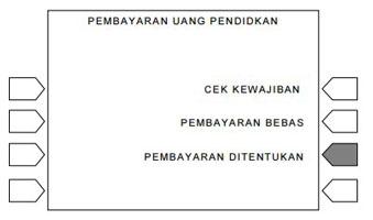 6. Pilih Menu Uang Pendidikan