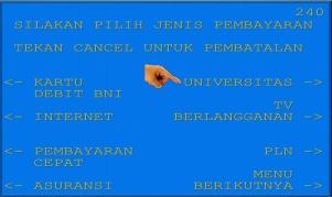 7. Lalu pilih Universitas