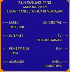 8. Pilih menu Universitas