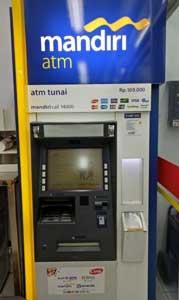 Cara Bayar UKT Unmul Lewat ATM Mandiri