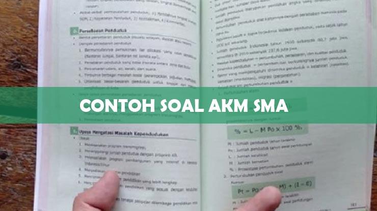 3 Contoh Soal Akm Sma Terbaru Lengkap 2021 Download Pdf