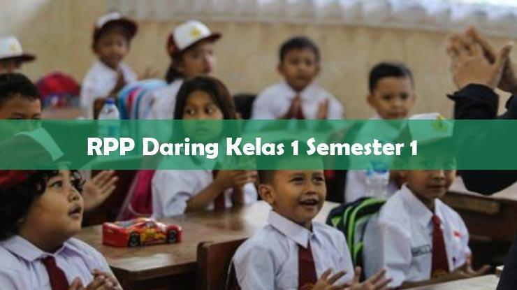 RPP Daring Kelas 1 Semester 1
