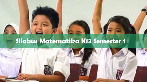 Silabus Matematika K13 Kelas 5 Semester 1