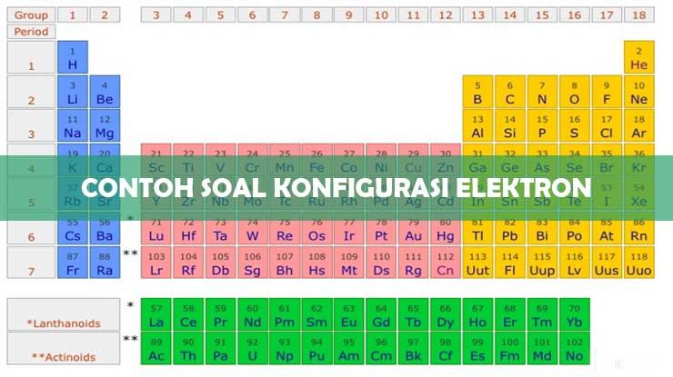 Contoh Soal Konfigurasi Elektron