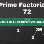 Contoh Soal Cerita KPK dan FPB