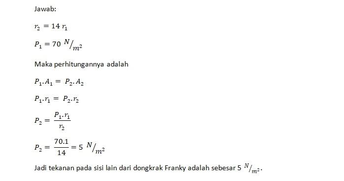 Jawaban Soal Franky 1