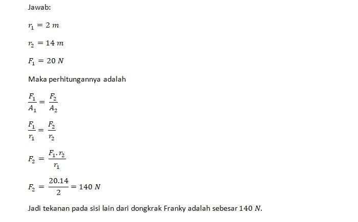 Jawaban Soal Franky 2