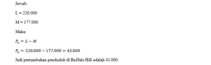 1.Jawaban Soal Buffalo Hill