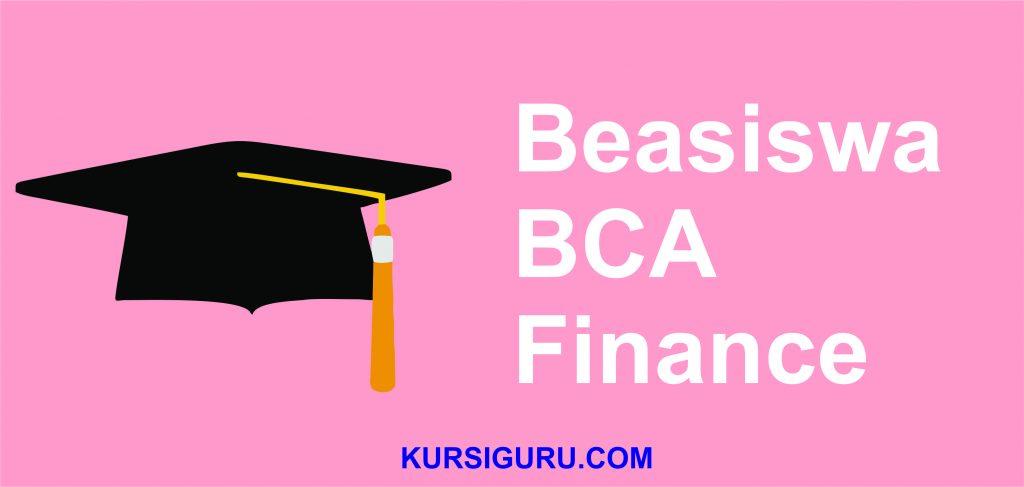 Beasiswa BCA Finance 1