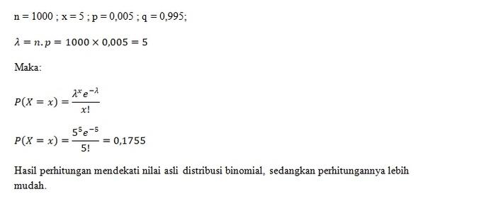 Jawaban Contoh Soal Distribusi Binomial Poisson 8