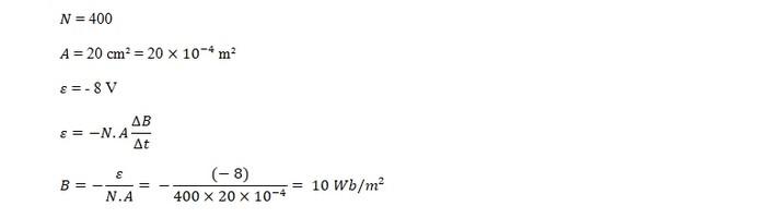 Jawaban Contoh Soal GGL Induksi 20