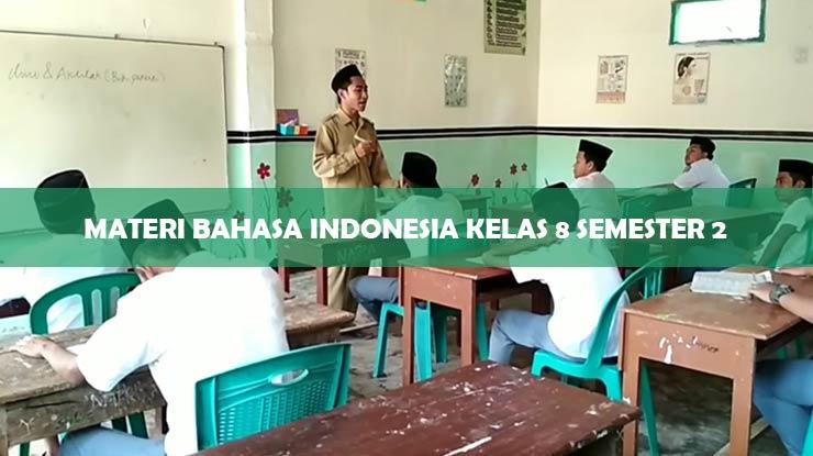 materi bahasa indonesia kelas 8