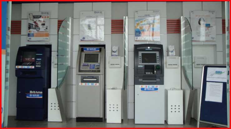 1.Kunjungi ATM BRI