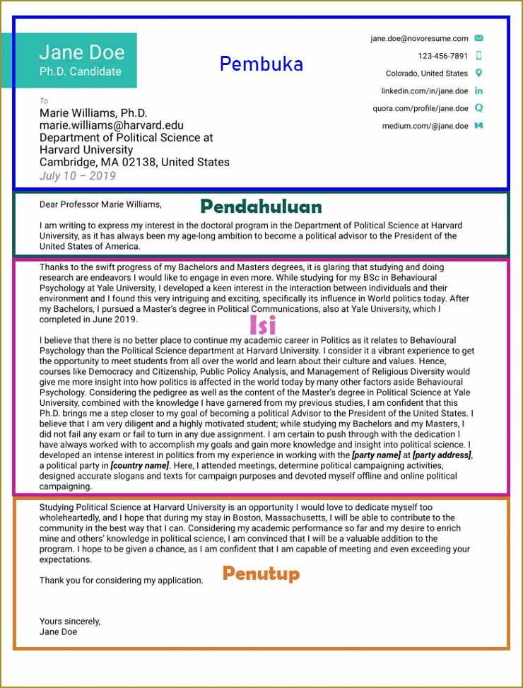 Contoh Motivation Letter Beasiswa Luar Negeri Bahasa Inggris