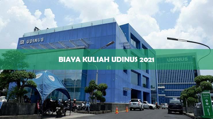 Biaya Kuliah Udinus 2021