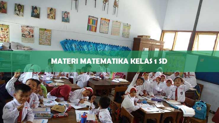 Materi Matematika Kelas 1 SD