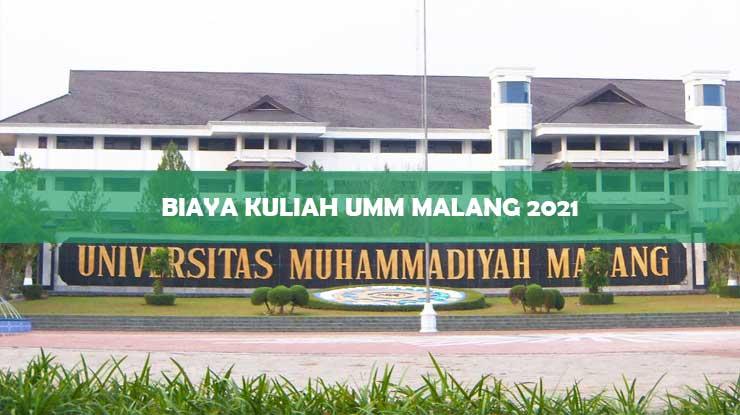 Biaya Kuliah UMM Malang 2021