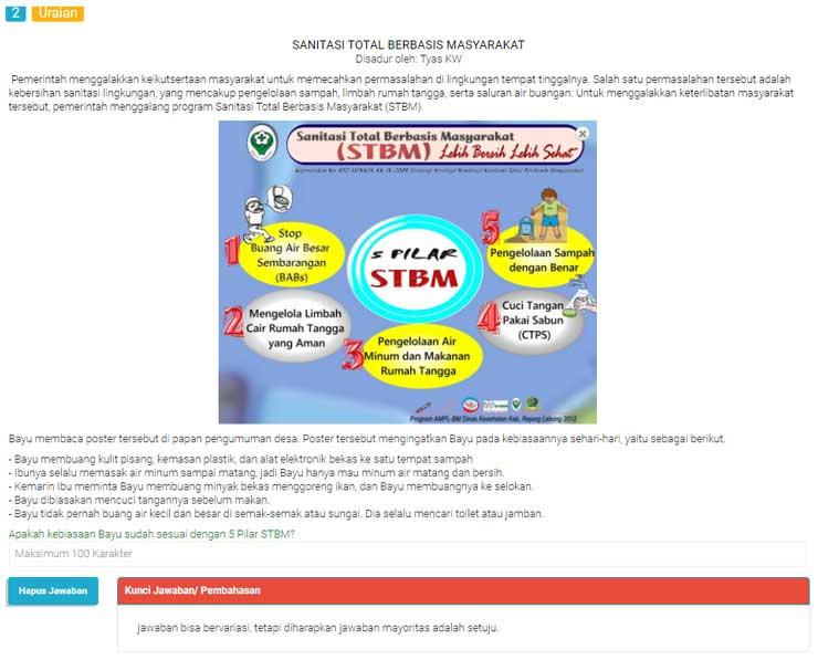 UNBK Kelas 8 Literasi Informasi 3