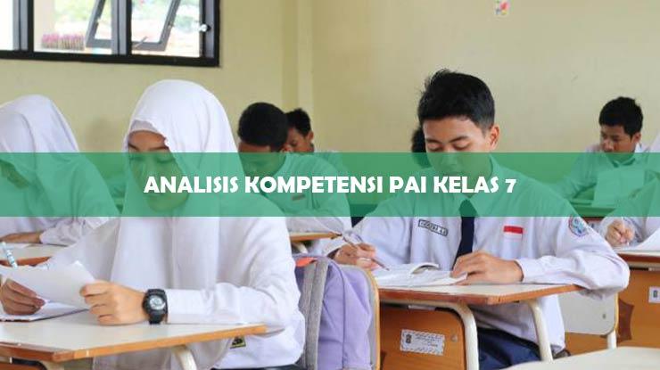 Analisis Kompetensi PAI Kelas 7