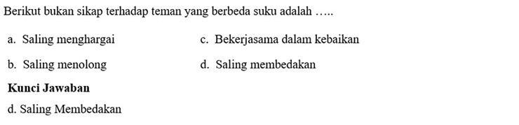 Contoh Soal PTS 2