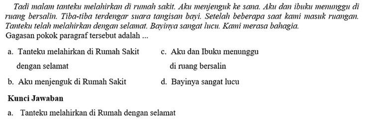 Contoh Soal PTS 3