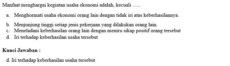 Contoh Soal PTS 7