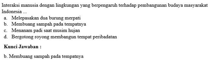 Contoh Soal PTS 8