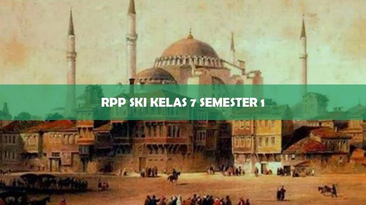 RPP SKI Kelas 7 Semester 1