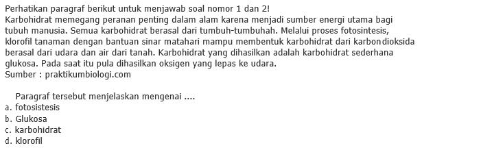 Contoh Soal PTS Kelas 9 Semester 1 Bahasa Indonesia