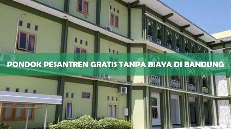 Pondok Pesantren Gratis Tanpa Biaya di Bandung